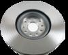 Par de Discos de Freio Hipper Freios (HF) - Eixo Dianteiro - AUDI A3 / S3 / VOLKSWAGEN Golf - HF88H (Ventilado e Sem Cubo)