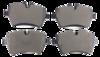 Pastilha de Freio ORIGINALLPARTS - MINI COOPER Countryman Jhon Cooper Workshop - Dianteira - OSDA0453