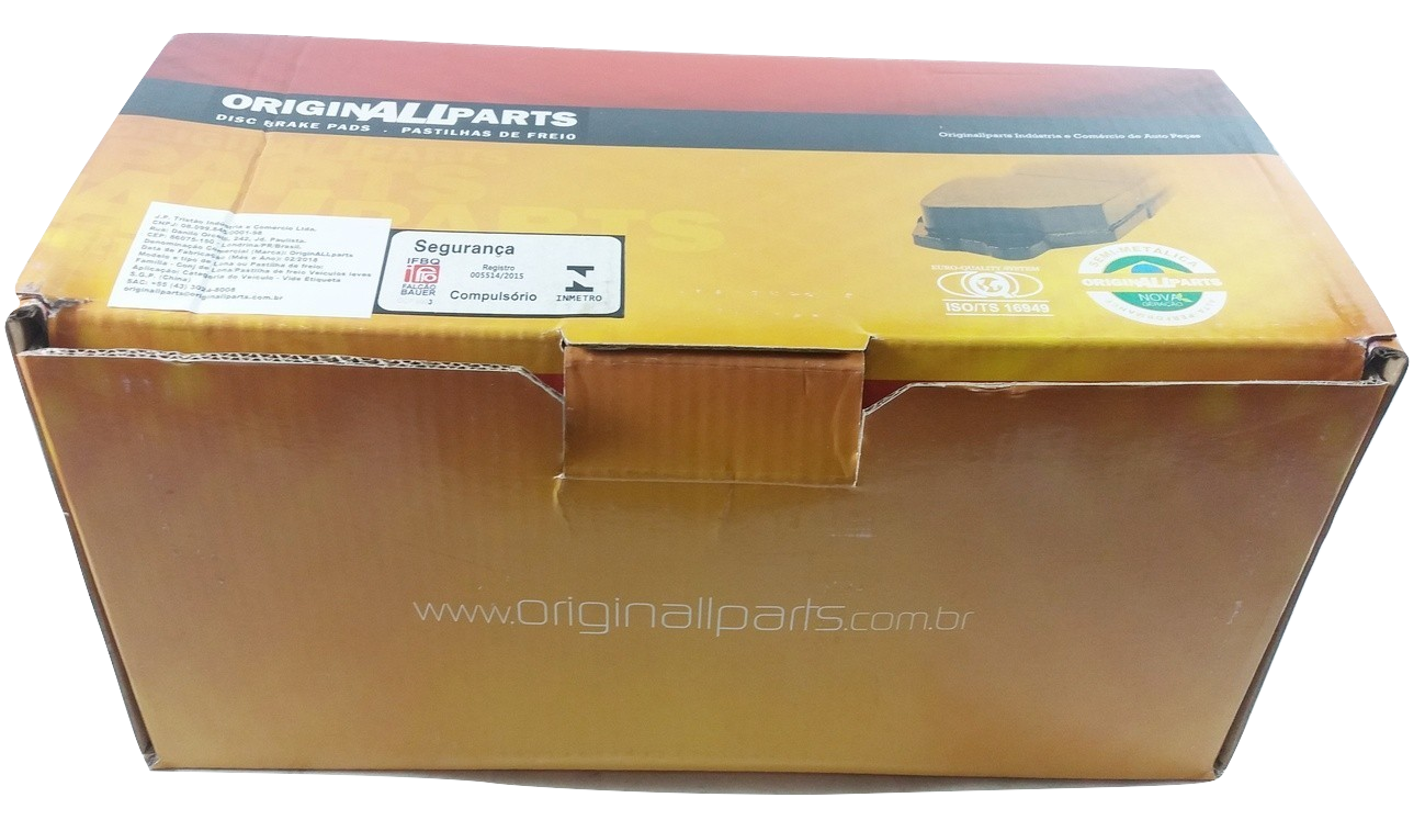 Pastilha de Freio ORIGINALLPARTS - BMW xDrive / Série 5 / Série 7 / Serie X5 / Serie X6 - Dianteiro - OSDA0411