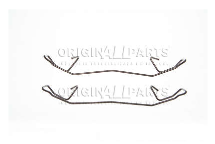 Mola Trava Pastilha de Freio - originALLparts - CHRYSLER Gran Cherokee - Dianteira - OKRD0503
