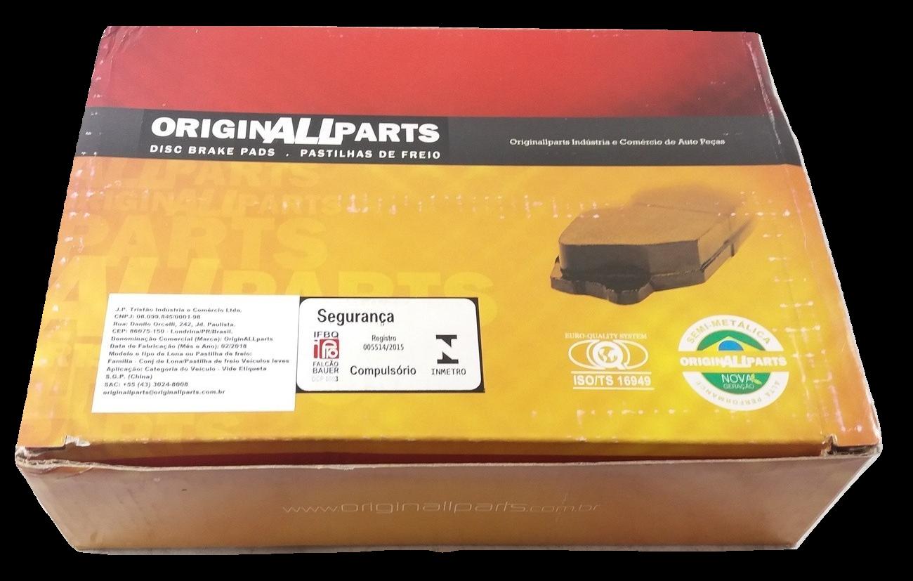 Pastilha de Freio ORIGINALLPARTS - BMW Série 1 / Série 2 - Dianteira - OSDA0417