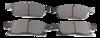 Pastilha de Freio ORIGINALLPARTS - CHRYSLER Gran Cherokee - DODGE Durango - Dianteira - OSDA0533