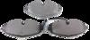 Pastilha de Freio ORIGINALLPARTS - AUDI A3 / TT - VOLKSWAGEN Golf VII - Dianteira - OSDW0113