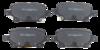 Pastilha de Freio ORIGINALLPARTS - GM Cruze LT / LTZ 1.4 - Traseira - OSTA1107