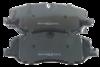 Pastilha de Freio ORIGINALLPARTS - LAND ROVER Discovery III / Discovery IV / Range Rover III / Range Rover Sport - Dianteira - OSDA1700