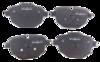 Pastilha de Freio ORIGINALLPARTS - BMW Série 5 / Série i8 / X3 / X4 / Z4 - Traseira - OSTA0412