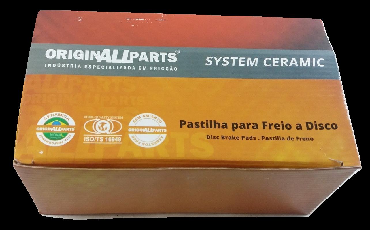 Pastilha de Cerâmica ORIGINALLPARTS - MERCEDES-BENZ C-Class / CLS / E-Class - Traseira - OCTA2017