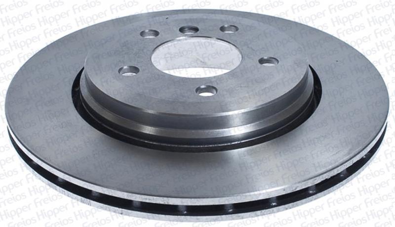 Disco de Freio Hipper Freios (HF) - Eixo Traseiro - BMW 330 / GM Silverado - HF921 (Ventilado e Sem Cubo)