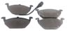 Pastilha de Freio ORIGINALLPARTS - AUDI A3 - VOLKSWAGEN Beetle / Bora / Golf / Jetta / Polo - Dianteira - OSDW0124