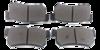 Pastilha de Freio ORIGINALLPARTS - SSANG YOUNG Actyon / Kyron / Rexton - Traseira - OSTA2602