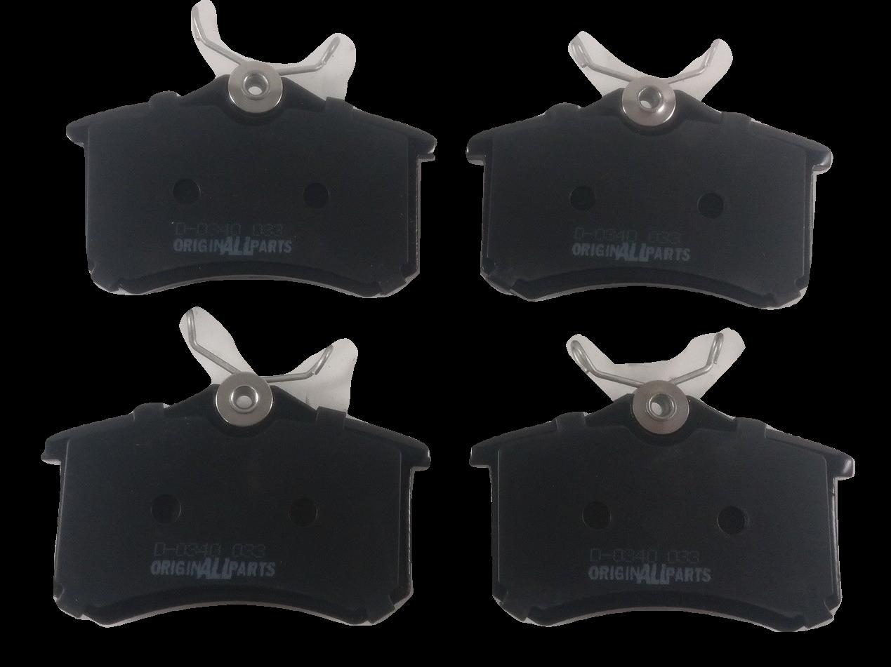Pastilha de Freio ORIGINALLPARTS - Vários modelos da: AUDI / VW / RENAULT / PEUGEOT / CITROËN / SEAT - Traseira - OSTA0115