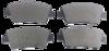 Pastilha de Freio JURID - HYUNDAI HB20 - Dianteira - HQJ2289A