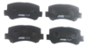 Pastilha de Freio JURID - ASIA MOTORS Tower - CHANA Cargo / Utility / Family - CHERRY Face / S-18 / Cargo / Utility / Family - EFFA M100 / M1000 - Dianteiro - HQJ2300