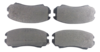 Pastilha de Freio JURID - Eixo Dianteiro - GM Malibu / HYUNDAI Coupe / Elantra / Sonata / Tucson / KIA Cadenza / Soul / Sportage - HQJ2216A