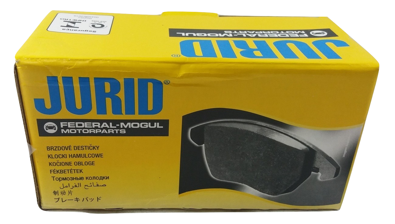Pastilha de Freio JURID - GM Cobalt / Sonic / Spin - Dianteira - HQJ2299A