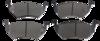 Pastilha de Freio JURID - VOLKSWAGEN Gol GV / Saveiro / Voyage - Dianteira - HQJ2286