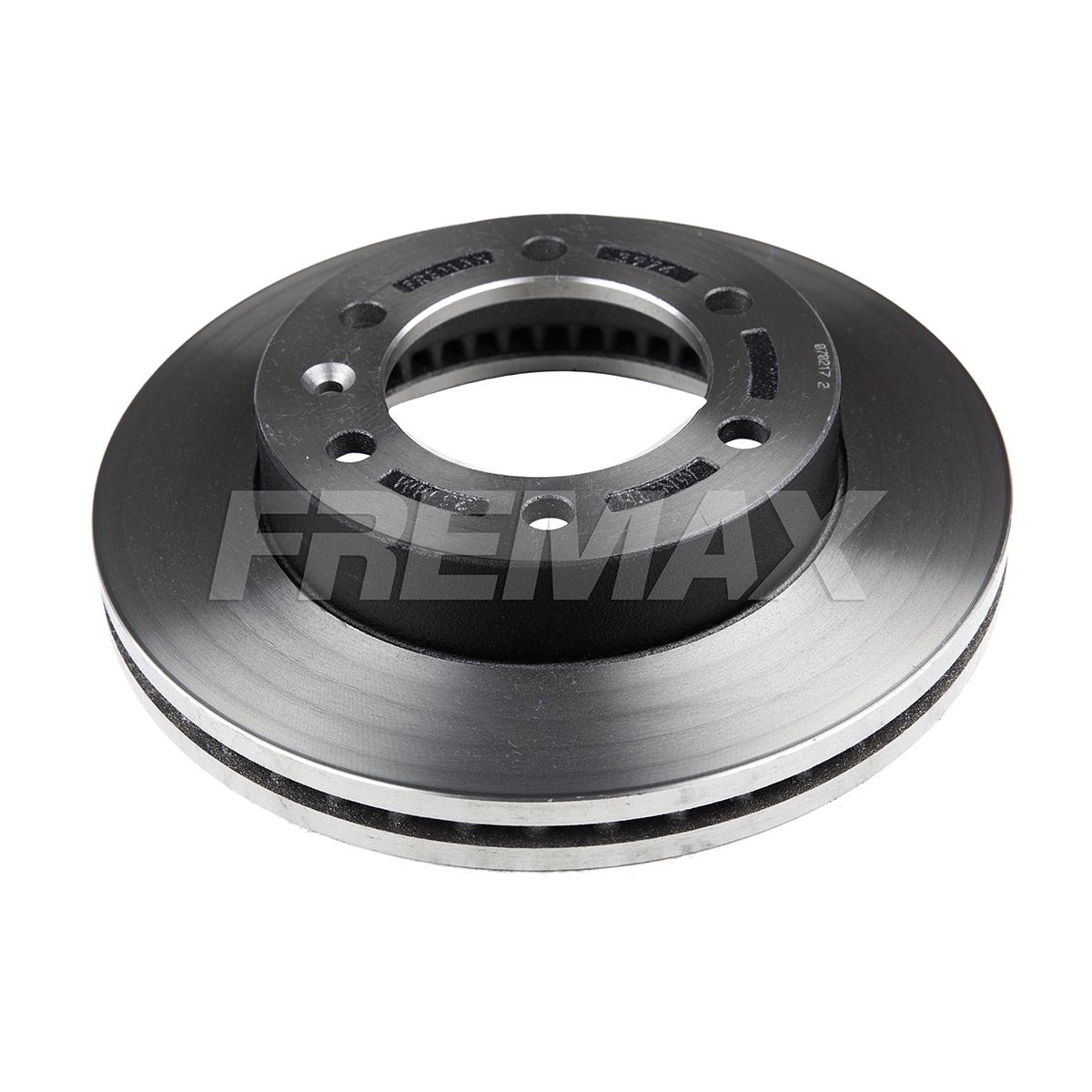 Par de Discos de Freio FREMAX - Eixo Dianteiro - GM S10 / Trailblazer - BD3974 (Ventilado e Sem Cubo)