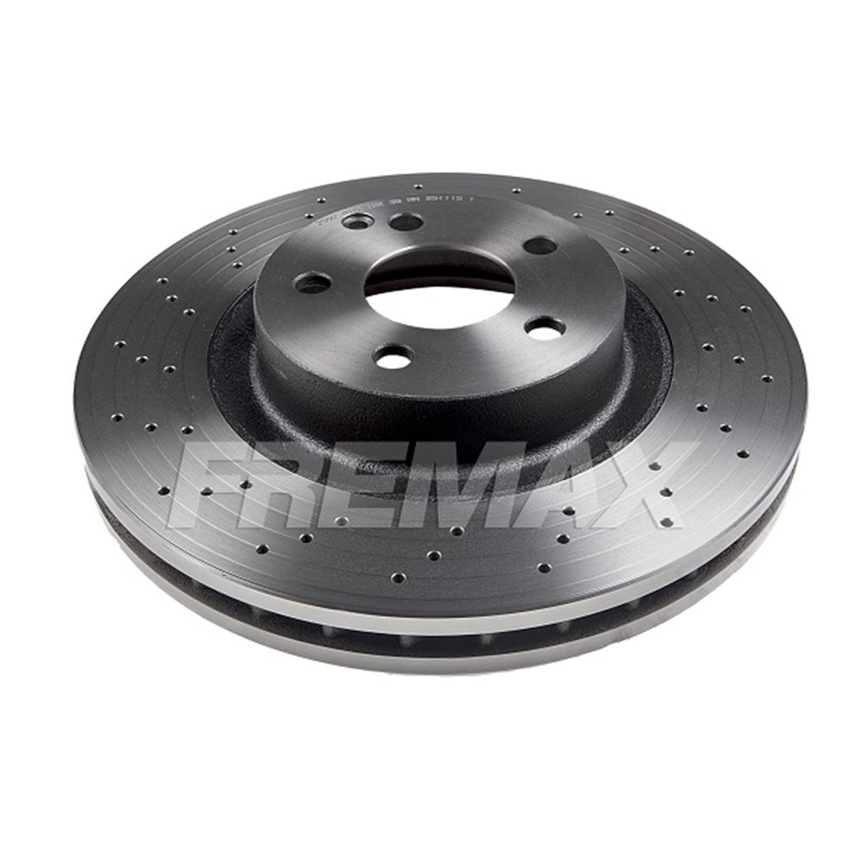 Disco de Freio FREMAX - Eixo Dianteiro - MB CLS350 CLS500 / E350 / E500 / GLK280, 300 / SL350 / SL500 - BD2592 (Ventilado e Sem Cubo)
