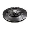 Disco de Freio FREMAX - Eixo Traseiro (Lado Esquerdo - Perfurado) - PORSCHE 911 Carrera - BD3350 (Ventilado e Sem Cubo)