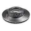Disco de Freio FREMAX - Eixo Traseiro (Lado Direito) - PORSCHE 911 Carrera - BD3351 (Perfurado, Ventilado e Sem Cubo)