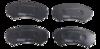Pastilha de Freio Mazda E2000/ E2200 / MPV / Mitsubishi Endeaver / Montero / Pajero Full Dianteira - PD/538