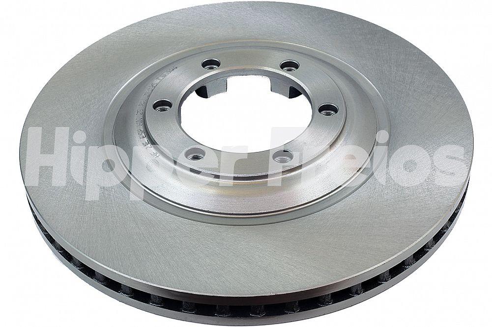 Par de Discos de Freio Hipper Freios (HF) - Eixo Dianteiro - CHEVROLET S10 / Trailblazer - HF21E (Ventilado e Sem Cubo)