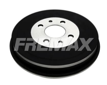 Tambor de Freio FREMAX - Traseiro - FIAT 500 / Brava / Doblò / Fiorino / Idea / Marea / Palio / Punto / Strada / Tempra / Uno - BD9600 (Sem Cubo)