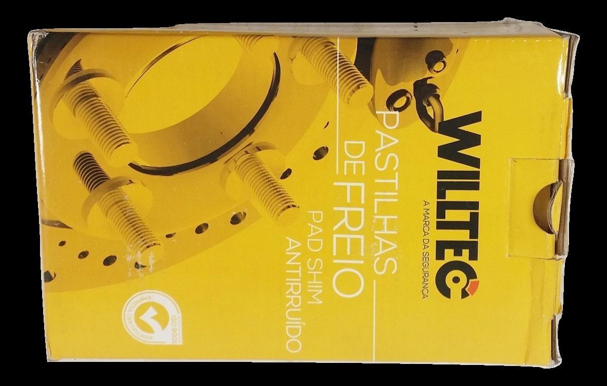 Pastilha de Freio Willtec - Eixo Dianteiro - SUZUKI Vitara - PW378P
