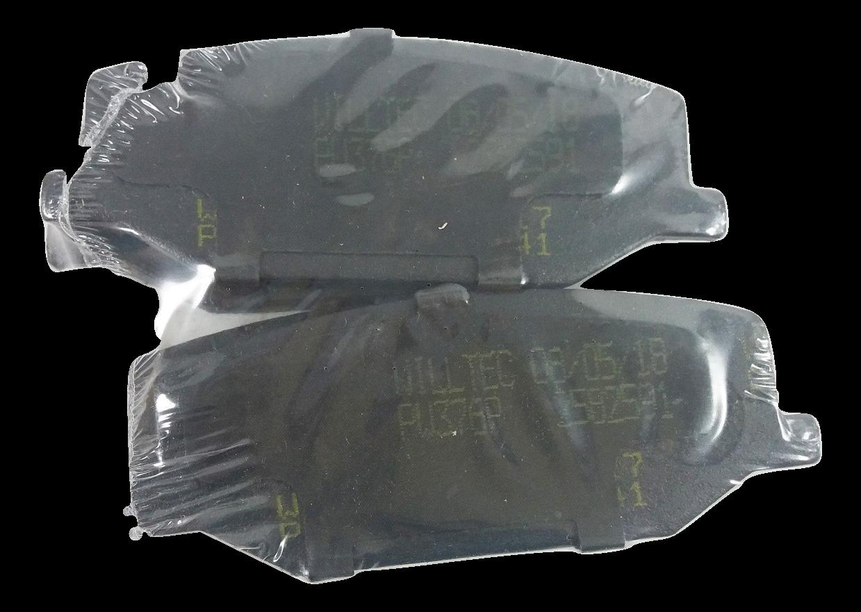 Pastilha de Freio Willtec - Eixo Dianteiro - SUZUKI Samurai / SJ410 / SJ413 / Carry / Super Carry - PW376P