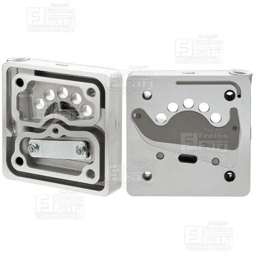 Cabeçote para Compressor Mono 85mm - Marca FARJ - CUMMINS / FORD (Governado) - (FJ93385-3)