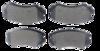 Pastilha de Freio ORIGINALLPARTS - HYUNDAI Azera / Coupe / Sonata / Tucson - KIA Cadenza / Magentis / Soul / Sportage - Dianteira - OSDA1313