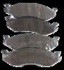 Pastilha de Freio ORIGINALLPARTS - CHRYSLER Cherokee / Gran Cherokee / Wrangler - TROLLER T4 TDI - Dianteira - OSDA0515