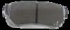 Pastilha de Freio ORIGINALLPARTS - HYUNDAI Azera / Santa Fé / Sonata / Tucson / KIA Cadenza / SSANGYONG Rexton - Eixo Traseiro - OSTA1312