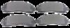 Pastilha de Freio JURID - FORD Explorer / Ranger - Dianteiro - HQJ2058A