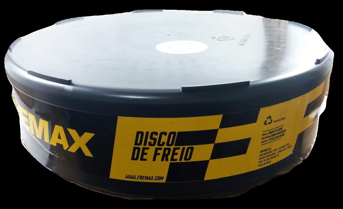 Disco de Freio FREMAX - Dianteiro - AUDi A1 / A3 / Q3 / TT / VW Golf / Fusca / EOS / Jetta / Passat / Tiguan / T-ROC - BD5618 (Ventilado e Sem Cubo)