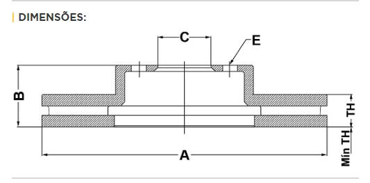 Par de Discos de Freio - FREMAX - Eixo Dianteiro - Jac Motos J5 / J6 - BD4708( Ventilado e Sem Cubo)
