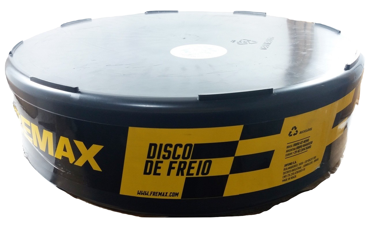 Disco de Freio FREMAX - Eixo Dianteiro - HYUNDAI Azera / Sonata / KIA Cadenza / Optima - BD5271 (Ventilado e Sem Cubo)