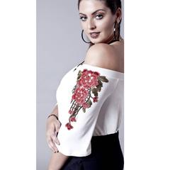 628fa924a Blusa na Macro Fashion
