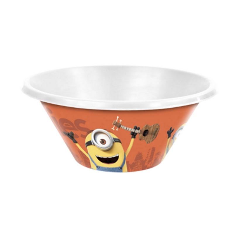 Tigela Plástico Bowl Minions 540ML Sortido Plasútil - 6382 - 6382-MT-01