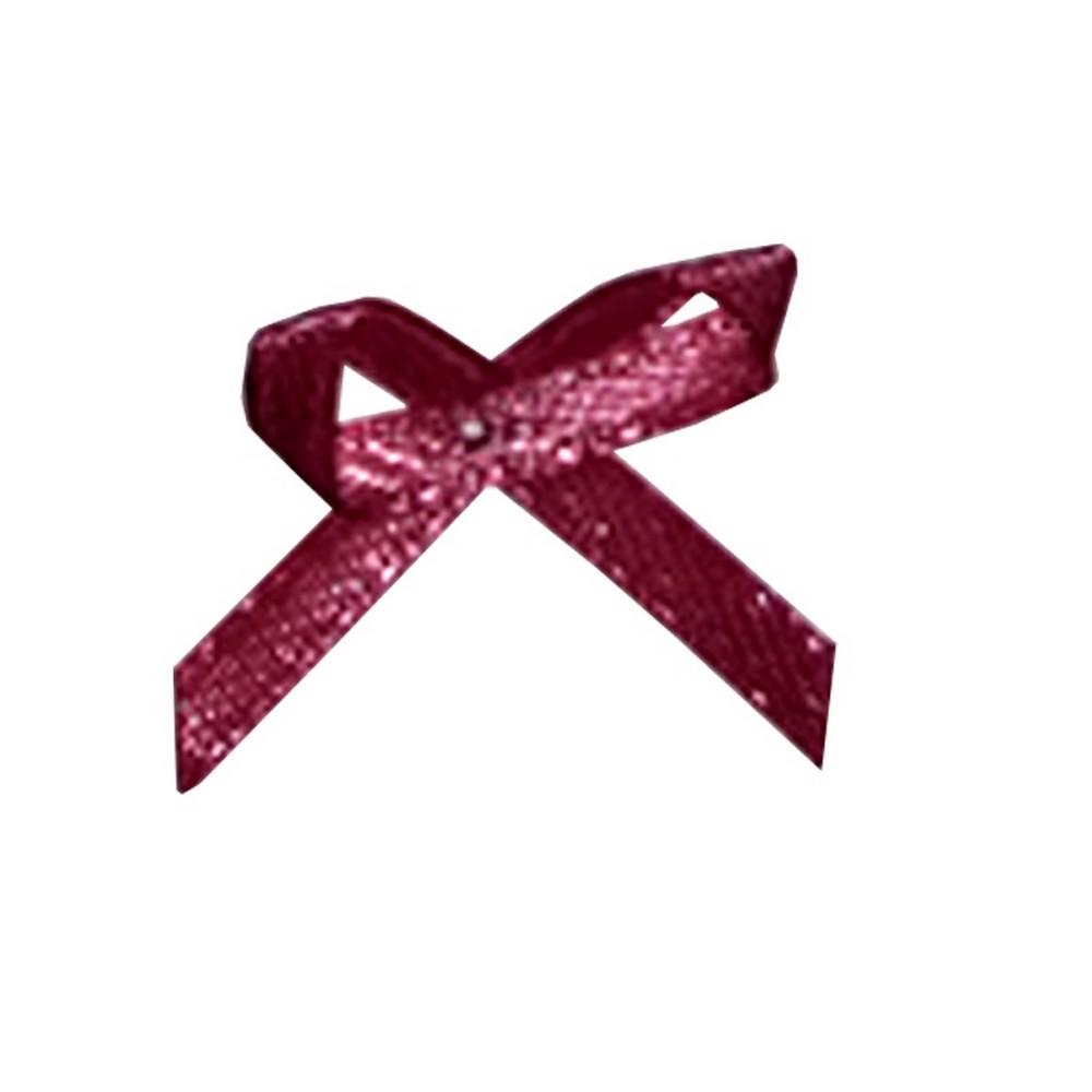 Aplicação Laço Rosa Antigo Cetim N°0 Pacote/50 UNI- 532354