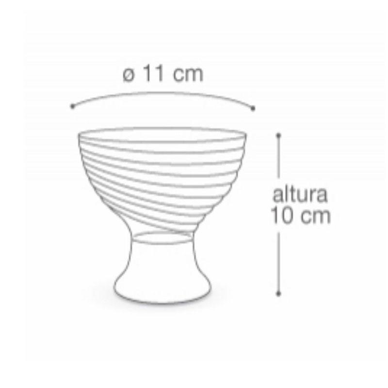 Taça de Plástico para Sobremesa com 11cm - Cores Sortidas - Arqplast - TCS3 - TCS3 - CORES SORTIDAS-MT-01