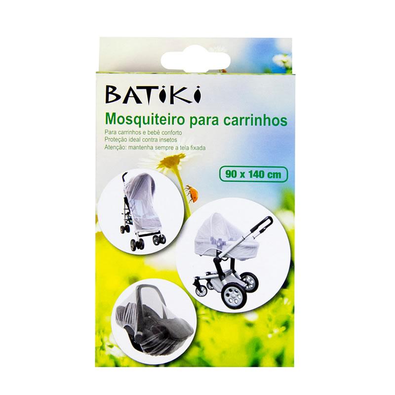 Mosquiteiro para Carrinho e Bebê Conforto 140 x 90 Centímetros Batiki - 22803 - 22803-MT-01
