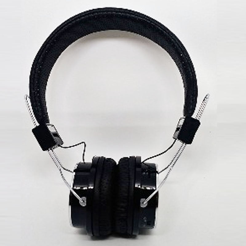 Fone de Ouvido Bluetooth, Rádio FM, Auxiliar e Usb Headfone Preto Lendex - LD-FOH5B