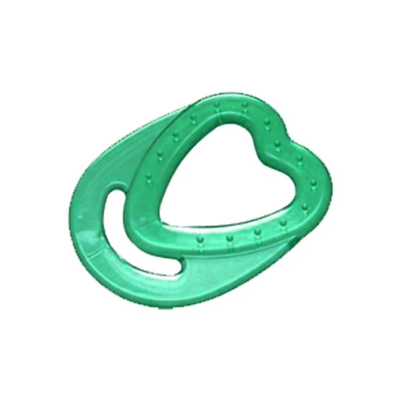 Mordedor em PVC para Bebê Modelo Coração Cefisa - 3.604.1 - 3.604.1 - VERDE-MT-01