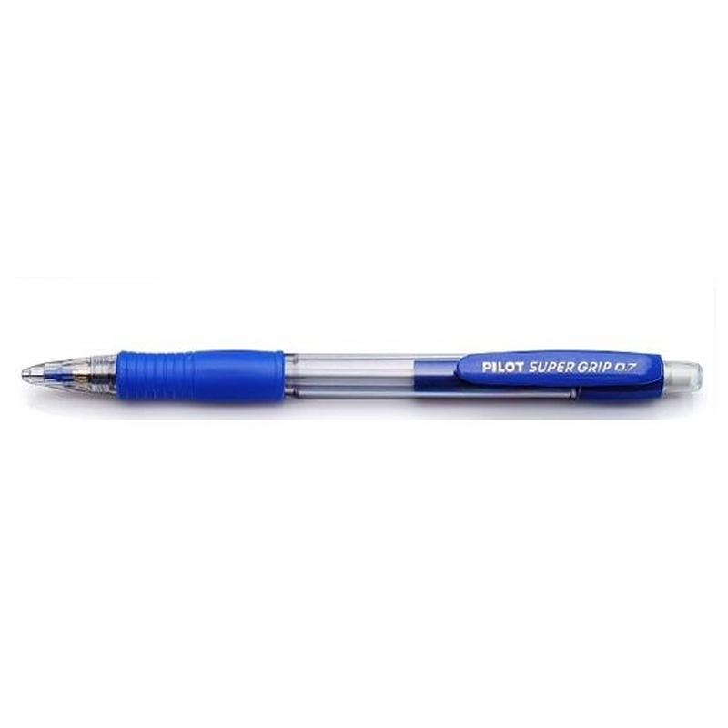 Lapiseira Pilot Super Grip 0,7mm Azul - H187SL